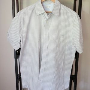 BANANA REPUBLIC Short Sleeve Dress Shirt